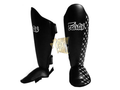 Fairtex Shin Guards Competition SP5-BK Muay Thai Gear