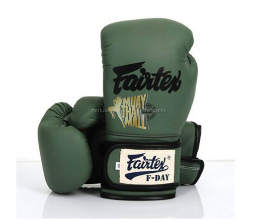 FAIRTEX BOXING GLOVES F-DAY LIMITED EDITION BGV11 MUAY THAI GEAR